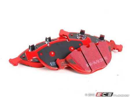 ES#520354 - DP31472C - Front RedStuff Performance Brake Pad Set - A high performance street pad, featuring Kevlar technology - EBC - BMW