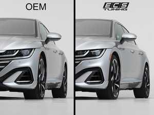 "ES#4375883 - 000023LB01KT - Arteon Wheel Spacer Flush Kit - 18"", 19"" & 20"" OEM Wheels - Bring your stock wheels to the ""flush"" position - ECS - Volkswagen"
