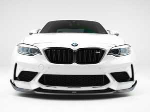 ES#4338938 - 008301la09aKT - Turner Motorsport Carbon Fiber Front Lip - F87 M2 (Competition) PRE- ORDER - The carbon fiber masterpiece that your M2 (Competition) has been waiting for. No drilling required, simple installation using factory mounting locations. - Turner Motorsport - BMW