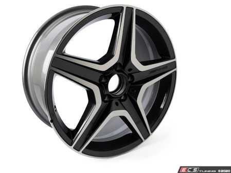 ES#1819799 - 66030098 - AMG 5-Spoke Wheel - Priced Each - 18x8, ET45 - Front Axle - Genuine Mercedes Benz -