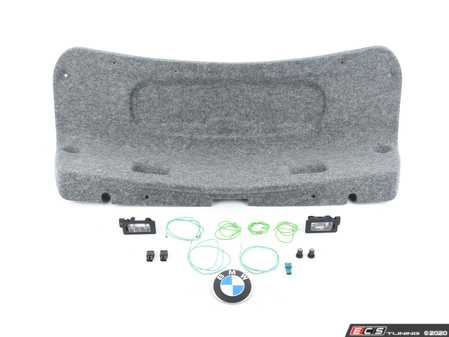 ES#4017715 - 41007895884KT - OEM CSL Rear Decklid Installation Kit - Includes every thing needed for a OE like installation - Assembled By ECS - BMW
