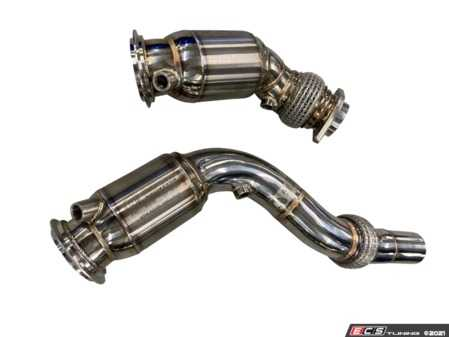 ES#4381960 - 11-080 - Active Autowerke High Flow Catted Downpipes - Will not produce a CEL - Active Autowerke - BMW