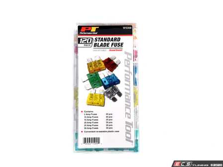 ES#4371741 - W5368 - 120 pc Fuse Assortment - A must for any toolbox. - Performance Tool - Audi BMW Volkswagen Mercedes Benz MINI Porsche