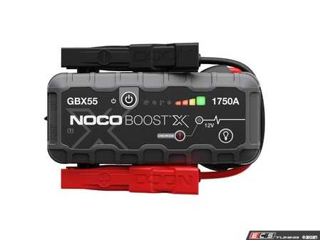 ES#4389654 - GBX55 - Boost X 12V 1750A Jump Starter - X for Extreme - An all-new design with extreme jump starting power for fast and powerful engines starts. - NOCO - Audi BMW Volkswagen Mercedes Benz MINI Porsche