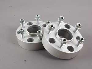 ES#392 - 8695716 - DRM Series Wheel Spacer - 43mm (1 Pair) - Wider is Better - H&R - Porsche
