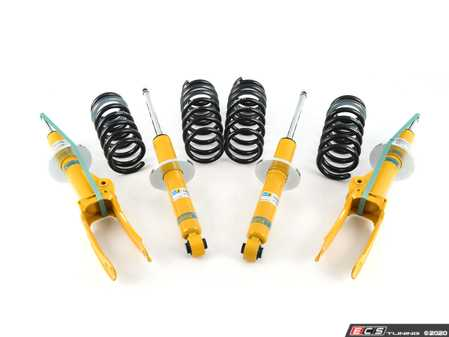 ES#3677955 - 46-264909 - B12 Pro-Kit Suspension System - Expertly matched performance Eibach Pro-line lowering springs and Bilstein shock/strut package for a dramatic increase in performance handling. World-famous Bilstein quality with a limited lifetime warranty! - Bilstein - Volkswagen Porsche
