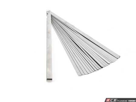"""ES#4371896 - W80541 - 12"""" Long Feeler Blade Set - Feeler Gauges are mostly used to measure gap clearance widths between two parts. - Performance Tool - Audi BMW Volkswagen Mercedes Benz MINI Porsche"""