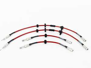 ES#4381792 - 008596la09KT - Exact-Fit Stainless Steel Brake Lines - Complete Kit - Manufactured by ECS Tuning to replicate your stock lines. (DOT-compliant) - ECS - BMW