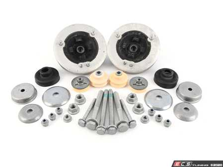 ES#3509487 - 31302283650KT2 - Cup Kit/Coilover Installation Kit - Everything you need to install coilovers, shocks/struts, or a cup kit on your BMW - Assembled By ECS - BMW