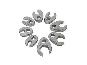 """ES#3128281 - 9708D - 8 Pc. 3/8"""" Dr. SAE Crowfoot Wrench Set - Basic doesn't have to be ordinary - Sunex - Audi BMW Volkswagen Mercedes Benz MINI Porsche"""