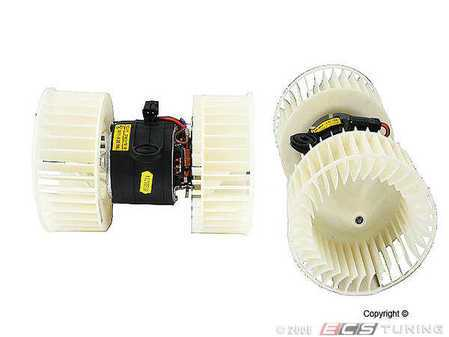 ES#253237 - 64118385558 - Blower Motor - Keep your climate control system functioning with this new blower motor - ACM - BMW