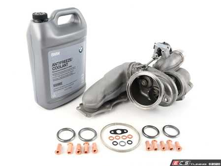 ES#4370267 - 49U77-A0000KT - N20 Turbocharger Stage 1 Upgrade Kit  - Increase the power potential of your BMW! - Assembled By ECS - BMW