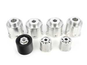 ES#3493830 - tdr9080sd1KT - Turner solid Aluminum complete subframe mount kit  - Includes subframe bushings and rear differential mounts for the ultimate performance and feel! - Turner Motorsport - BMW
