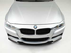 ES#4352838 - 008688LA01 -  Turner Motorsport F30 Carbon Fiber Front Lip Spoiler (M Sport) - Add more aggressive style to the front of your car with Turner's new carbon front lip - Turner Motorsport - BMW