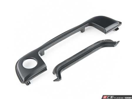 ES#4158962 - 51218122442KT - Door Handle Trim - Right Front With Gasket  - Is your gasket around the door handle cracking or dry rotting? Replace your door handle trim - Assembled By ECS - BMW