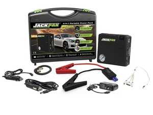 ES#3509577 - 5180099 - Lithium-ion Portable Battery Jumper & Power Pack With Compressor - JackPak is the 4-in-1 Portable Power Pack that bundles everything you need for roadside assistance and emergencies. - QuickJack - Audi BMW Volkswagen Mercedes Benz MINI Porsche