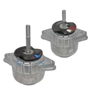 ES#4415931 - 94637505722KT - 2010-2012 Panamera 3.6L V6 Lower Engine Mount Kit - Reduce Vibration and Improve Performance by replacing your worn engine mounts - Assembled By ECS - Porsche