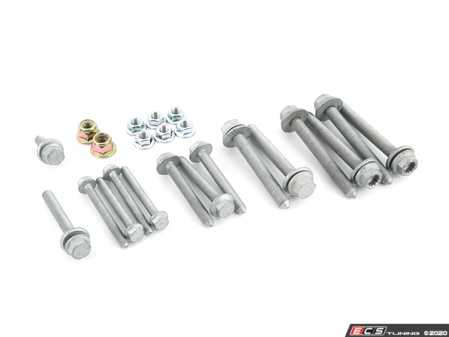 ES#4340426 - 5C0411303KT -  Front Sway Bar Installation Kit  - All of the necessary one-time use hardware for front sway bar installation - Assembled By ECS - Volkswagen