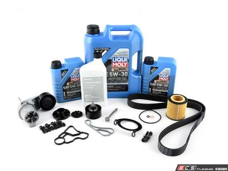 """ES#4365386 - ECSf30n55bpKT - N55 """"Bulletproof"""" Crank Kit - .or at least as """"Bulletproof"""" as your F3X N55 will ever be! Includes a crank bolt capture kit, crank seal plate, oil filter housing gaskets, and all of the components required to perform this upgrade service. - Assembled By ECS - BMW"""