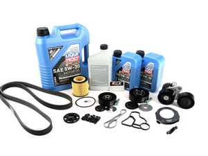 """ES#4365384 - ECSn54bpKT - N54 """"Bulletproof"""" Crank Kit - .or at least as """"Bulletproof"""" as your N54 will ever be! Includes a crank bolt capture kit, crank seal plate, oil filter housing gaskets, and all of the components required to perform this upgrade service. - Assembled By ECS - BMW"""