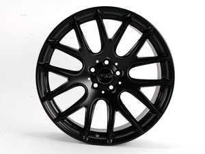 "ES#2162620 - W111.815112 - 18"" Style 111 Wheels - Priced Each - Full Matte Black - 18x8.5 5x100 ET35 CB57.1 Ball seat wheel bolts required. - Miro - Audi Volkswagen"