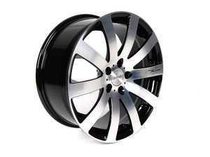 """ES#2207670 - HR41911235 - 19"""" HR4 Wheels - Set Of Four  - 19""""x8"""" ET35 5x112 Black/Diamond Cut Face - MRR Design - Audi"""