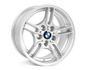 """ES#64650 - 36112228995 - 17"""" Style 66 Wheel - Priced Each - 17X8 ET20 CB 74.1mm. Replace your curbed or bent rim with a factory style 66 replacement. - Genuine BMW - BMW"""