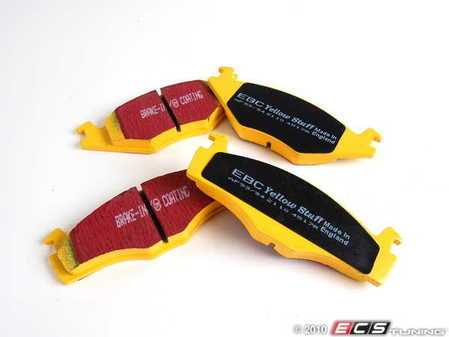 ES#521062 - DP4517R - YellowStuff Performance Brake Pad Set - A race quailty pad that can be used at the track and back home again. - EBC - Volkswagen