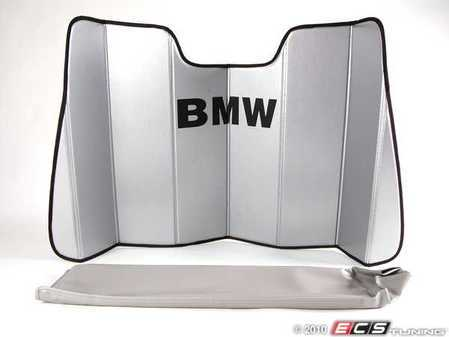 ES#195806 - 82111469896 - UV Sunshade - Used to keep the summer sun from overheating your 5-Series interior. - Genuine BMW - BMW