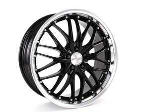 "ES#2855639 - gt11121985bkKT - 19"" GT1 Wheels - Set Of Four - 19""x8.5"" ET35 5x112 - Black/Chrome - MRR Design - Audi Volkswagen"
