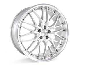 "ES#2207693 - GT11810038 - 18"" GT1 Wheels - Set Of Four - Hyper Silver/Polished Lip - (NO LONGER AVAILABLE) - 18x7.5, ET38, 5x100. Tuner wheel bolts required, see long description for detail. - MRR Design -"