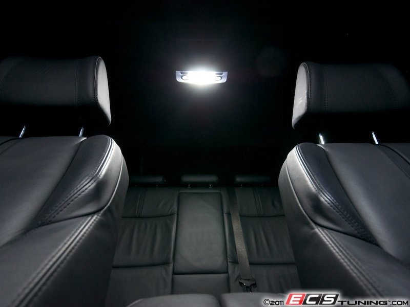 ECS News - BMW E90 LED Interior Lighting Kit