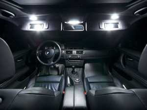 ES#2215063 - E90LEDINTER - Master LED Interior Lighting Kit - Transform your complete interior in minutes with new LED interior bulbs from Ziza - ZiZa - BMW