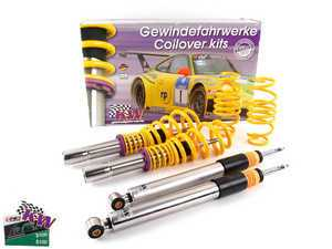 ES#2619533 - 35210097 - V3 Series Coilover Kit - With EDC Deactivation Kit - The ultimate in coilover technology, featuring double adjustable damping - KW Suspension - Audi