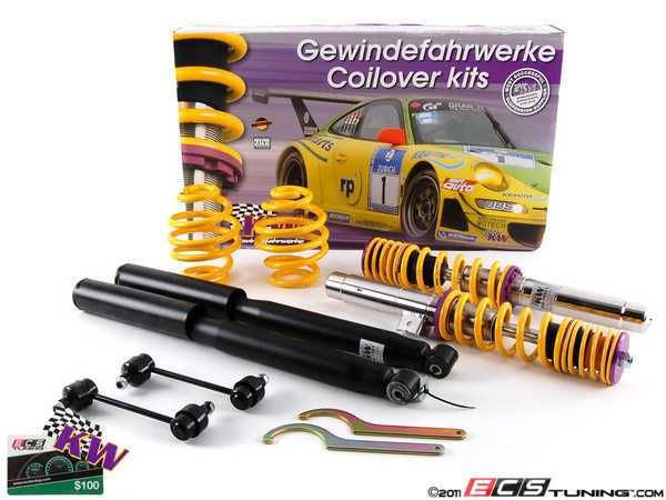 ES#2215046 - 10220022 - KW V1 Series Coilover Kit - Variant 1 coilovers offer the best balance between sporty driving and comfort - KW Suspension - BMW