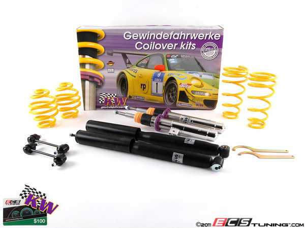 ES#2215049 - 10220023 - KW V1 Series Coilover Kit - Variant 1 coilovers offer the best balance between sporty driving and comfort - KW Suspension - BMW