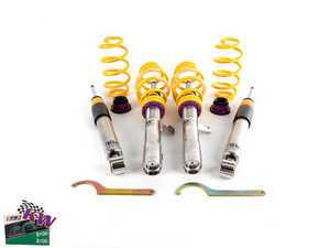 ES#2214956 - 35210040 - KW V3 Series Coilover Kit - The ultimate in coilover technology featuring double adjustable dampening - KW Suspension - Audi Volkswagen