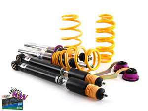 """ES#2580710 - 15280068 - KW Variant 2 Series Coilover Kit - Adjustable Damping - Height adjustable 1.0"""" to 2.2"""" (front) and 1.2"""" to 2.4"""" (rear) - KW Suspension - Volkswagen"""