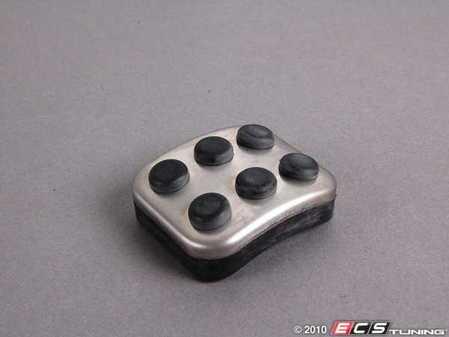 ES#1727979 - 2034300084 - Parking Brake Pedal Pad - Aluminum / Rubber Pedal Pad - Genuine Mercedes Benz - Mercedes Benz