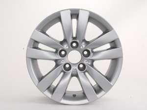 "ES#64988 - 36116775599 - 17"" Double Spoke Style 161 Wheel - Priced Each - 17x8 ET 34 72.6 CB  - Genuine BMW - BMW"