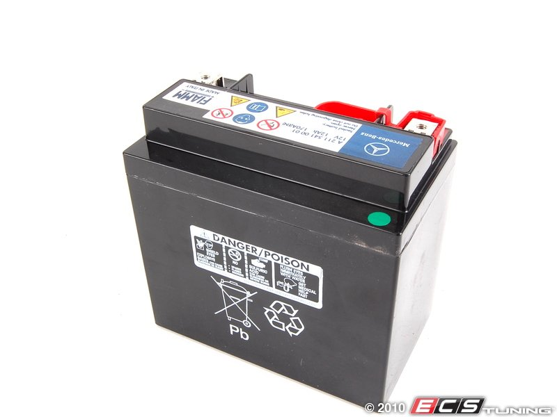 Genuine mercedes benz 2115410001 auxiliary battery no for Genuine mercedes benz battery