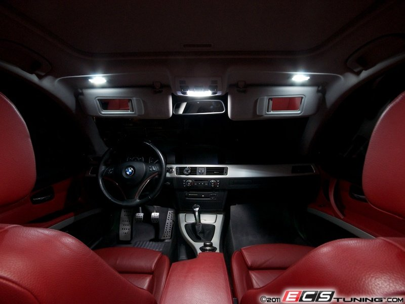 ECS News - BMW E92 LED Interior Lighting Kit