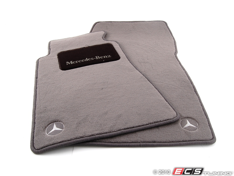 Genuine mercedes benz q6680292 carpeted floor mat set for Mercedes benz e350 floor mats