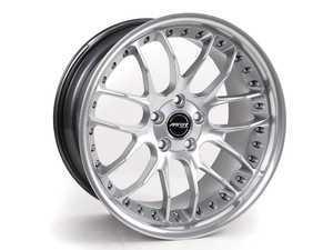 "ES#2207756 - GT7198595 - 19"" GT7 Wheels - Staggered Set Of Four - 19x8.5 ET35 / 19x9.5 ET35. Hyper Silver / Machined Lip - MRR Design - BMW"