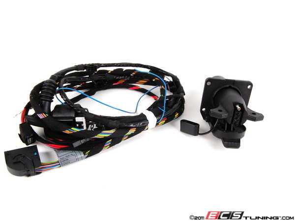 Bmw x5 trailer hitch wiring harness