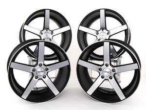 """ES#2215408 - CV3B0208 - 20"""" CV3 Wheels - Staggered Set Of 4 - 20x9 ET20/20x10.5 ET27, 5x120 CB72.6mm. Matte Black - Vossen - BMW"""