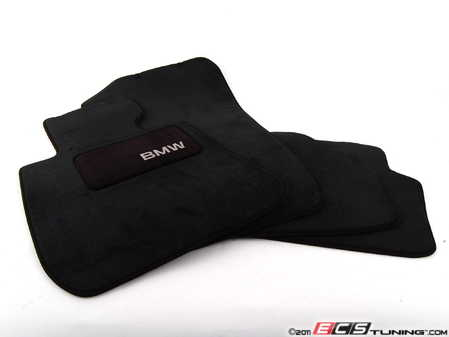 ES#2498821 - 82112293530 - Carpeted Floor Mat Set - Black - Complete set of four - Genuine BMW - BMW