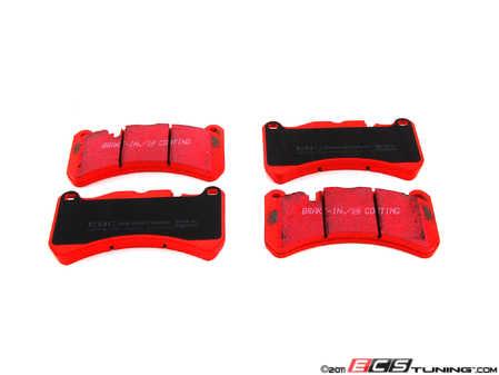 ES#520387 - DP31591C - Front Redstuff Ceramic Performance Brake Pad Set - High performance street pad featuring Kevlar technology - EBC - Mercedes Benz