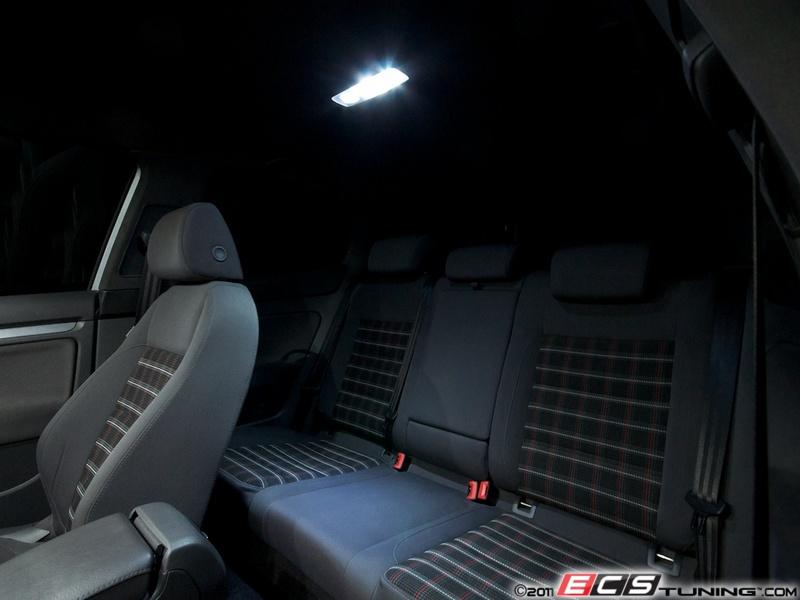 ECS News - Ziza LED Lighting Kits for your VW MK5 R32
