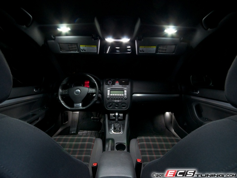 Ecs News Ziza Led Lighting Kits For Volkswagen Mkv Golf